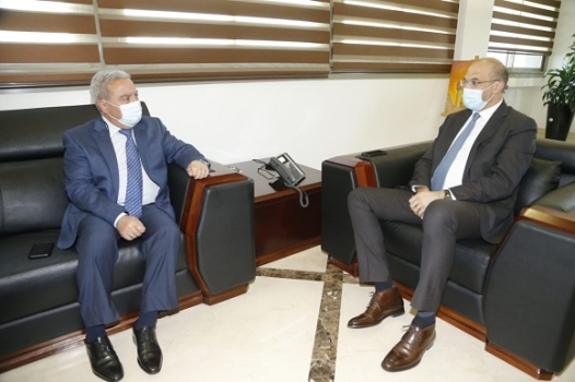 Minister Hasan and Musharrafieh Follow up on Lebanon's Vaccination Plan